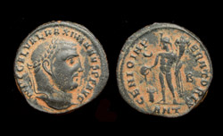 Galerius, Follis, Genio, Antioch, Not Listed in RIC!